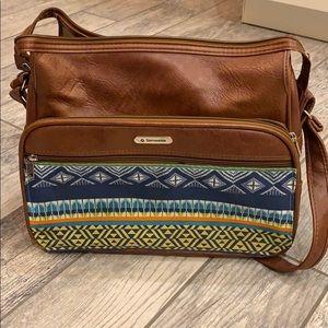 Upcycled Samsonite vintage bag